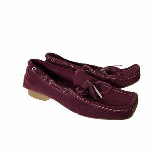 Banana Republic Suede Leather Moccasin Size 8.5